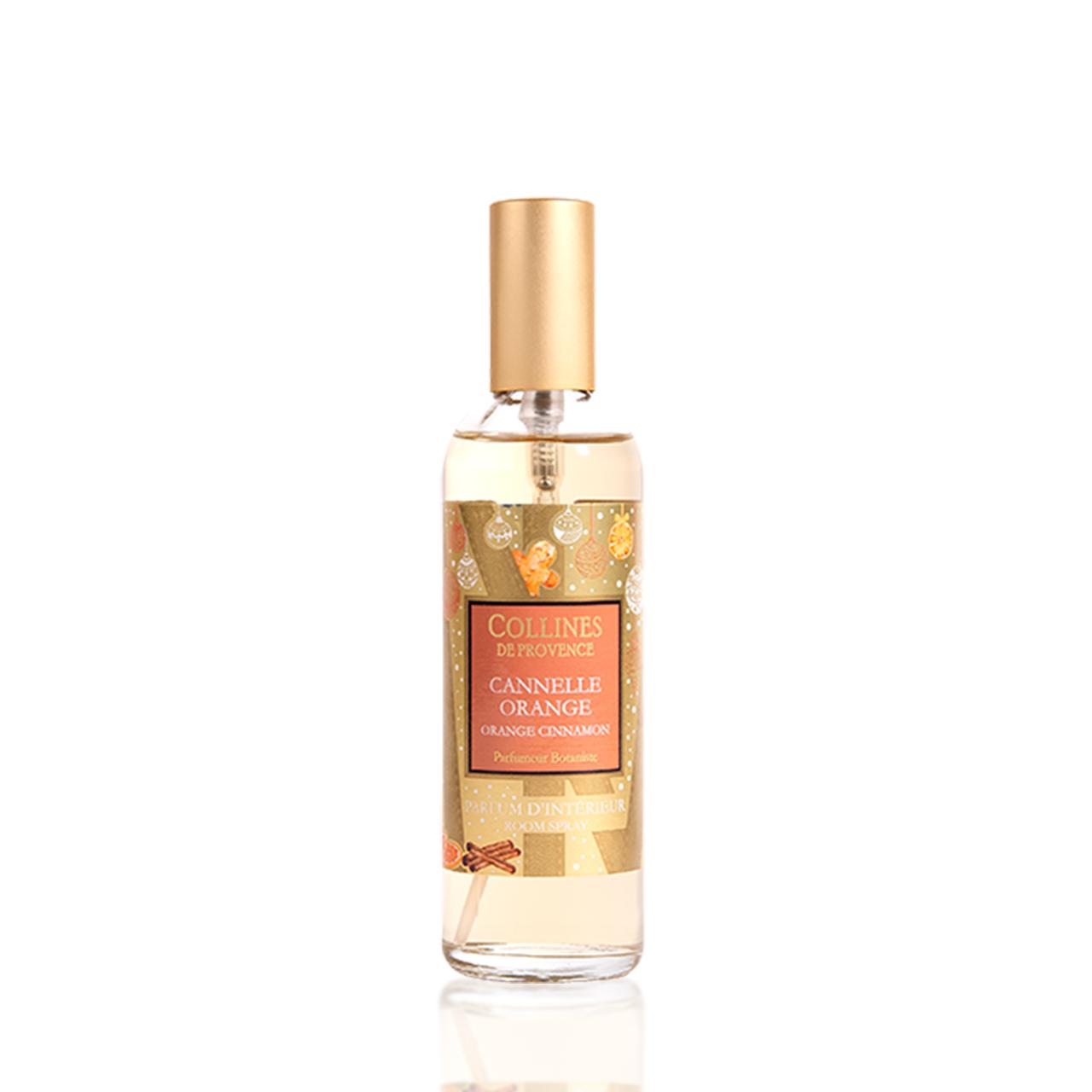 Спрей Collines новогодний 100мл Cinnamon Orange (Корица с апельсином)