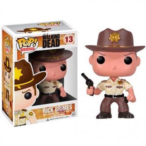 Фигурка Funko Pop Ходячие Мертвецы - Рик Граймс (The Walking Dead-Rick Grimes)