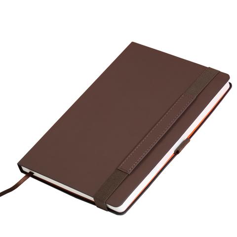 Ежедневник недатированный - Portobello Alpha, коричневый А5