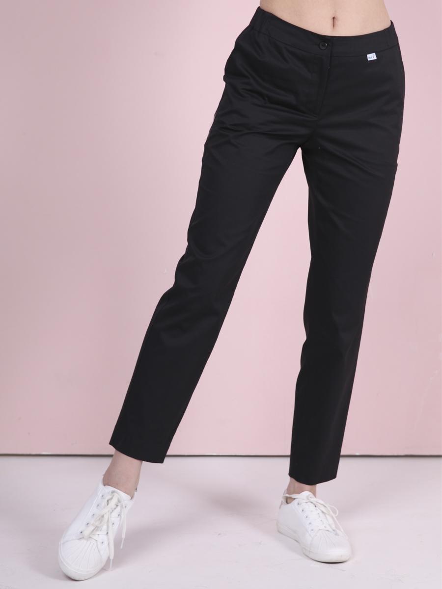 Черные медицинские брюки|MediS.moda