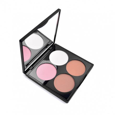 Палетка для лица 4you С306 «Весеннее настроение» 8,4 гр (Kristall Minerals Cosmetics)