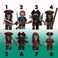 Минифигурки Пираты Карибского моря серия 374