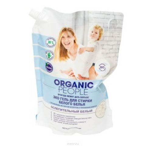 ORGANIC PEOPLE эко-гель для стирки белого белья 2 л.