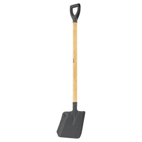 Лопата совковая Сибртех 35x22.5 см с деревянным черенком (артикул производителя 61459)