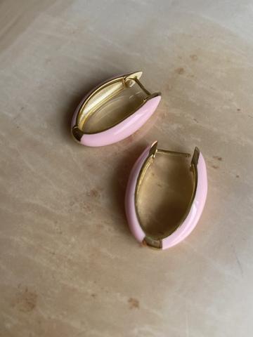 Серьги Мантис розовые