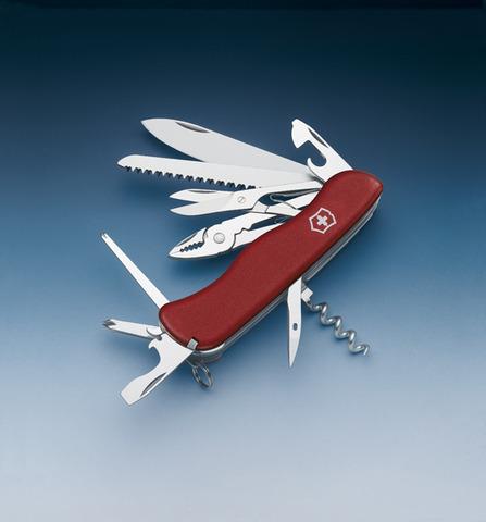 Нож Victorinox Hercules, 111 мм, 18 функций, красный