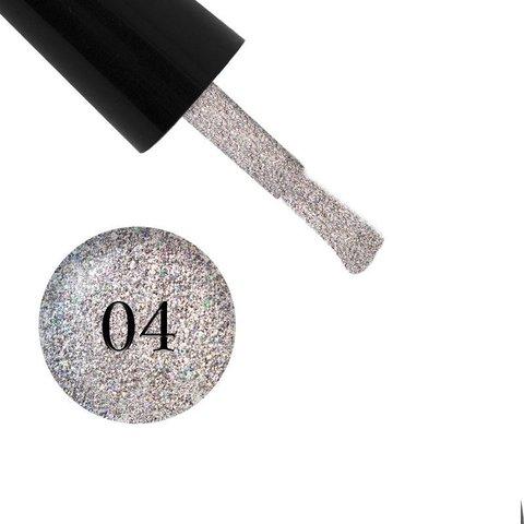 Гель лак Glitter Shine Gel, Starlet,04