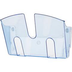 Дисплей настенный Attache из полистирола голубой (340x230 мм)