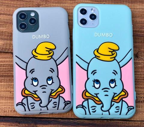 Чехол iPhone 11 Pro Max Disney Dumbo /gray/