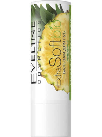 EVELINE Бальзам для губ Pineapple EXTRA SOFT bio
