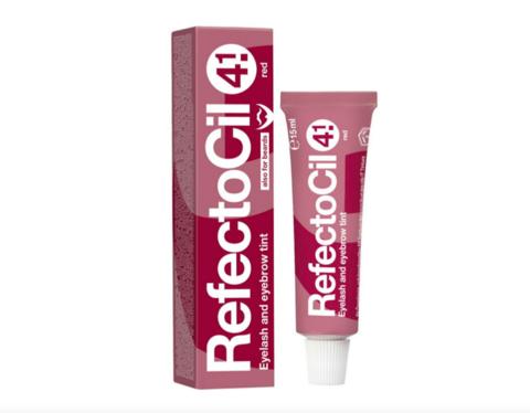 Крем-краска RefectoCil для окрашивания бровей и ресниц № 4.1 Красная