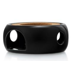 """Подставка-нагреватель """"Prometheus"""" для подогрева чайника свечой черная керамическая"""