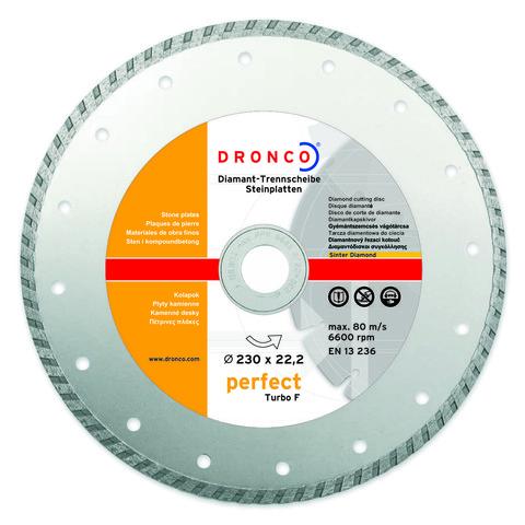 Алмазный диск Dronco PERFECT TURBO F 180 мм