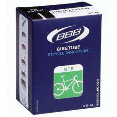 """Велокамера 27,5"""" с велониппелем BBB 27.5 2,10/2.35 FV 33mm"""