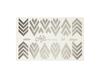 Фольга для дизайна ногтей цвет серебро 39 купить за 120руб