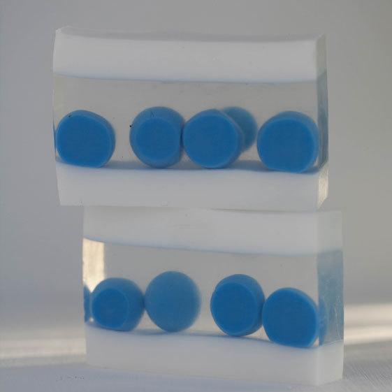 Мыло с шариками. Форма силиконовая