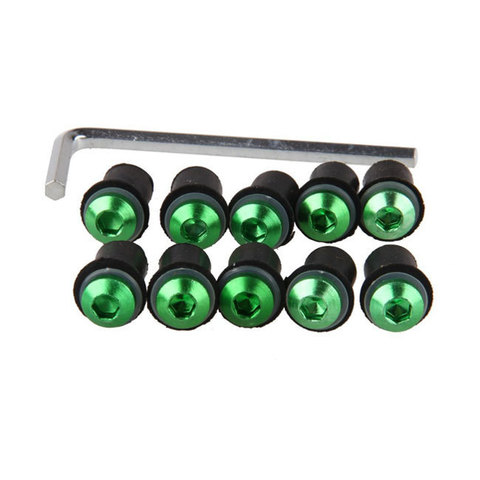 Болты для крепления ветровых стекол зеленые