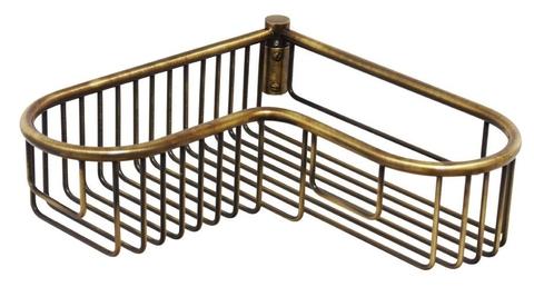 Решетка угловая фигурная Migliore Complementi  H9xL30xP30см.  ML.COM-50.901.BR  бронза