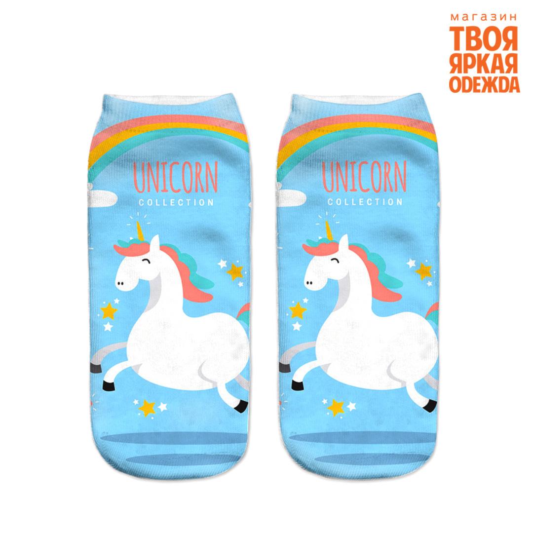 """Носки Носки """"Единороги"""" 35-40 _unicorn3.jpg"""