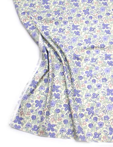 Цветы фиолетовые