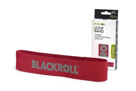 Мини-эспандер текстильный BLACKROLL® LOOP BAND 30 см (мягкое сопротивление)