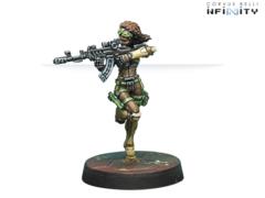Leila Sharif Hacker (вооружен Shock Marksman Rifle)