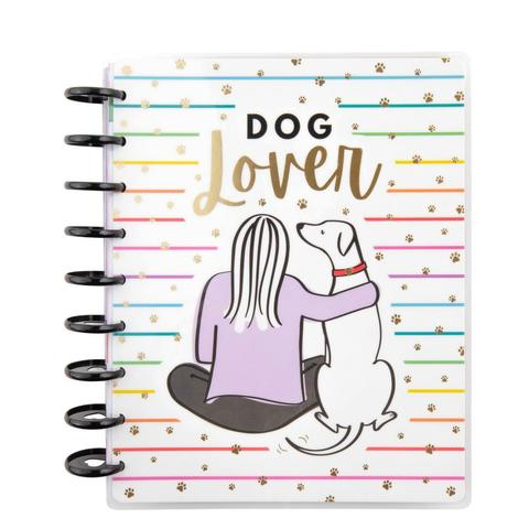 Ежедневник 2021 Dog Lover Classic Vertical Happy Planner® - 12  мес -  19,5х24,5см