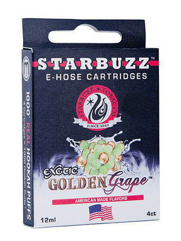 Картриджи Starbuzz - Golden Grape с никотином