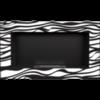 Биокамин Kratki Golf Zebra встраиваемый в стену