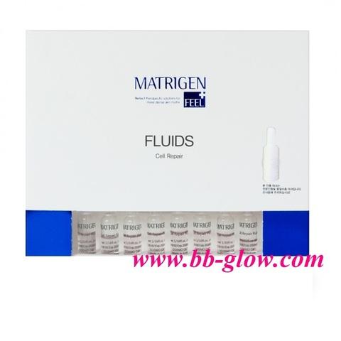 Флюид клеточное восстановление (омолаживающая)  Matrigen Cell Repair Fluids 1 коробка 20 ампул по 2 мл.