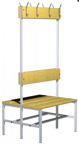 Скамейка гардеробная с вешалкой 03.523-9007