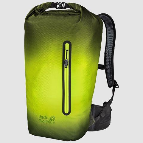 Картинка рюкзак городской Jack Wolfskin Halo 24 Pack corona lime - 1