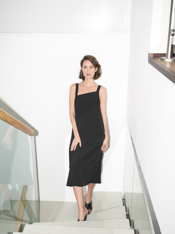 Платье Margaret с длинными лямками