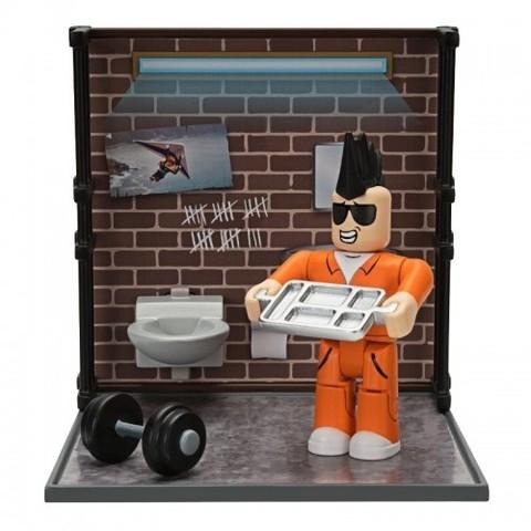 Игровая коллекционная фигурка Jazwares Roblox Desktop Series Jailbreak: Personal Time W6