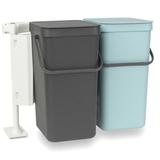Набор ведер для мусора SORT&GO 16л (2шт), артикул 110023, производитель - Brabantia, фото 2