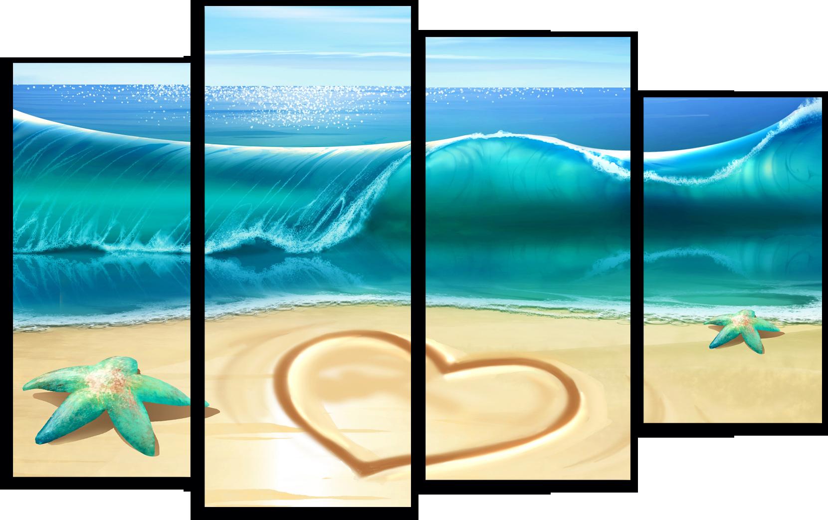 "Природа Модульная картина ""Океан любви"" М221.png"