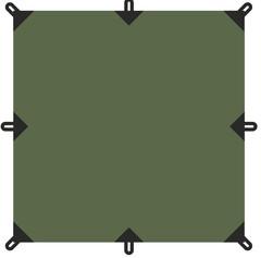 Тент Talberg 4X4М зелёный