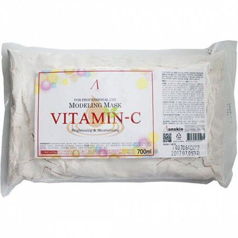 ANSKIN Original Маска альгинатная с витамином С (пакет) 240гр Vitamin-C Modeling Mask / Refill 240гр