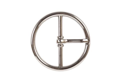 Пряжка круглая 32 мм, никель