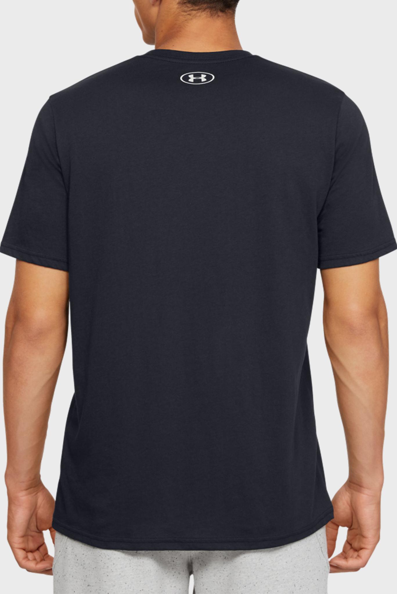 Мужская черная футболка UA PERF. ORIGIN MISSION SS-BLK Under Armour