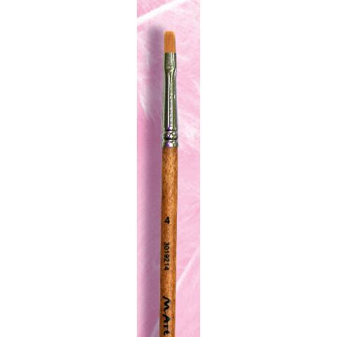 Кисть для губ №4 - удлиненная (301921404)