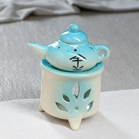 Аромалампа керамическая Чайник, 12 см