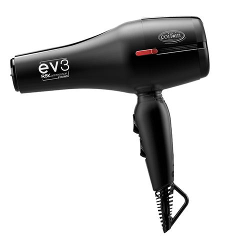 Фен Coif*in EVbx3R, 2300 Вт, 2 насадки, черный