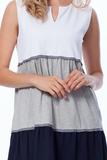 Трехцветное платье Luna di Giorno