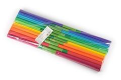 Набор креповой бумаги в рулоне 2000х500 9755, 10цв (радуга)