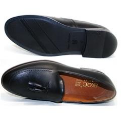 Мужские туфли классика Ikoc BlacK-1