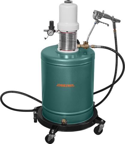 AE300073 Нагнетатель консистентной смазки пневматический 20 л.