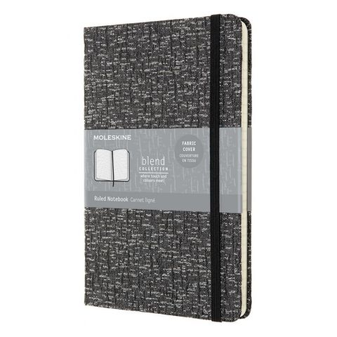 Блокнот Moleskine LIMITED EDITION BLEND LCBD05QP060B Large 130х210мм 192стр. линейка мягкая обложка серый