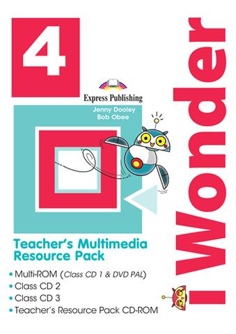 i Wonder 4 - Teacher's Multimedia Resource Pack(set of 4) - комплект дисков для учителя с доп материалами