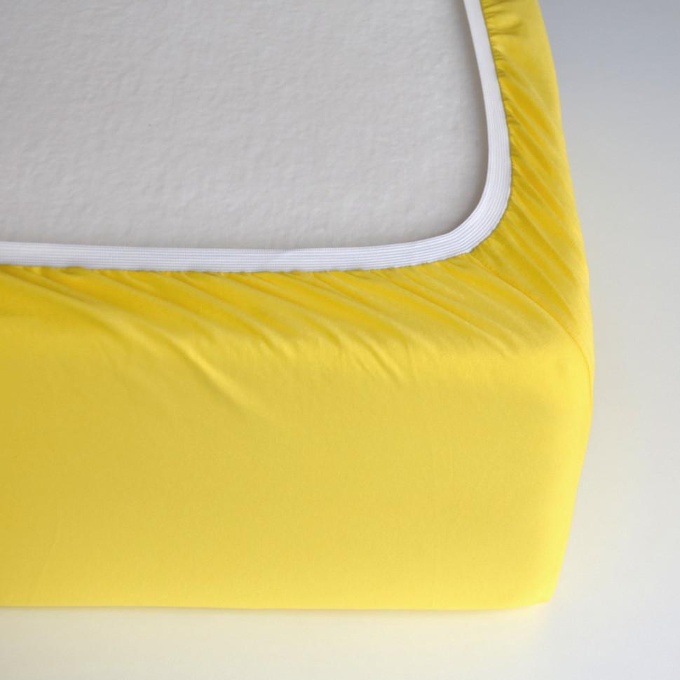 TUTTI FRUTTI лимон - Детская простыня на резинке
